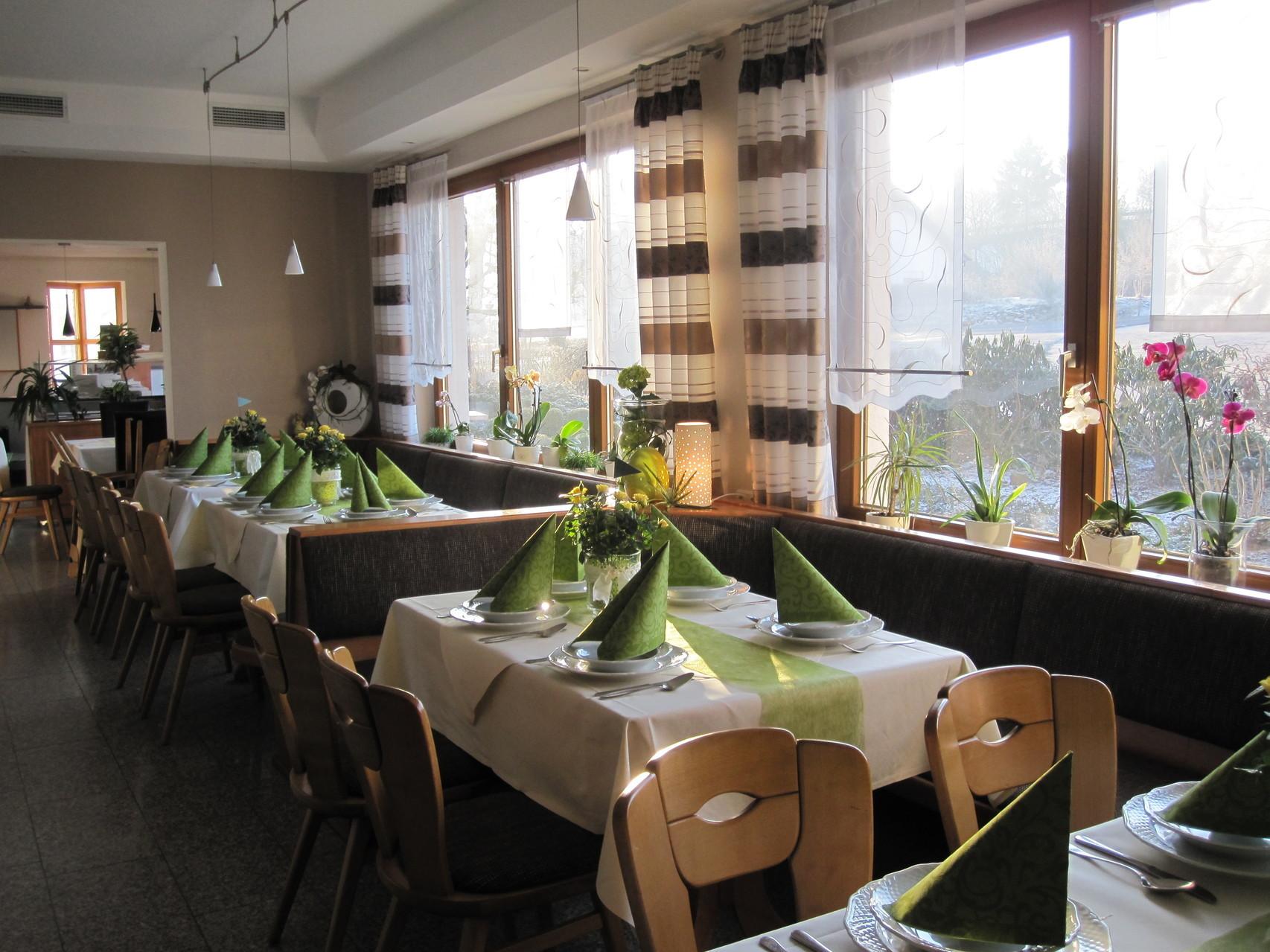 Frontansicht im Restaurantbereich