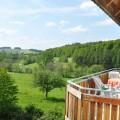 Balkonblick ins Grün